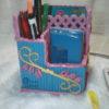 kotak pensil kerajinan tangan dari kertas koran gulung