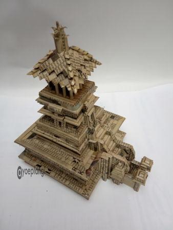 miniatur menara kudus