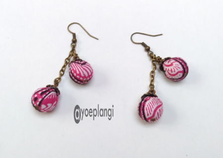 Anting Batik Juntai